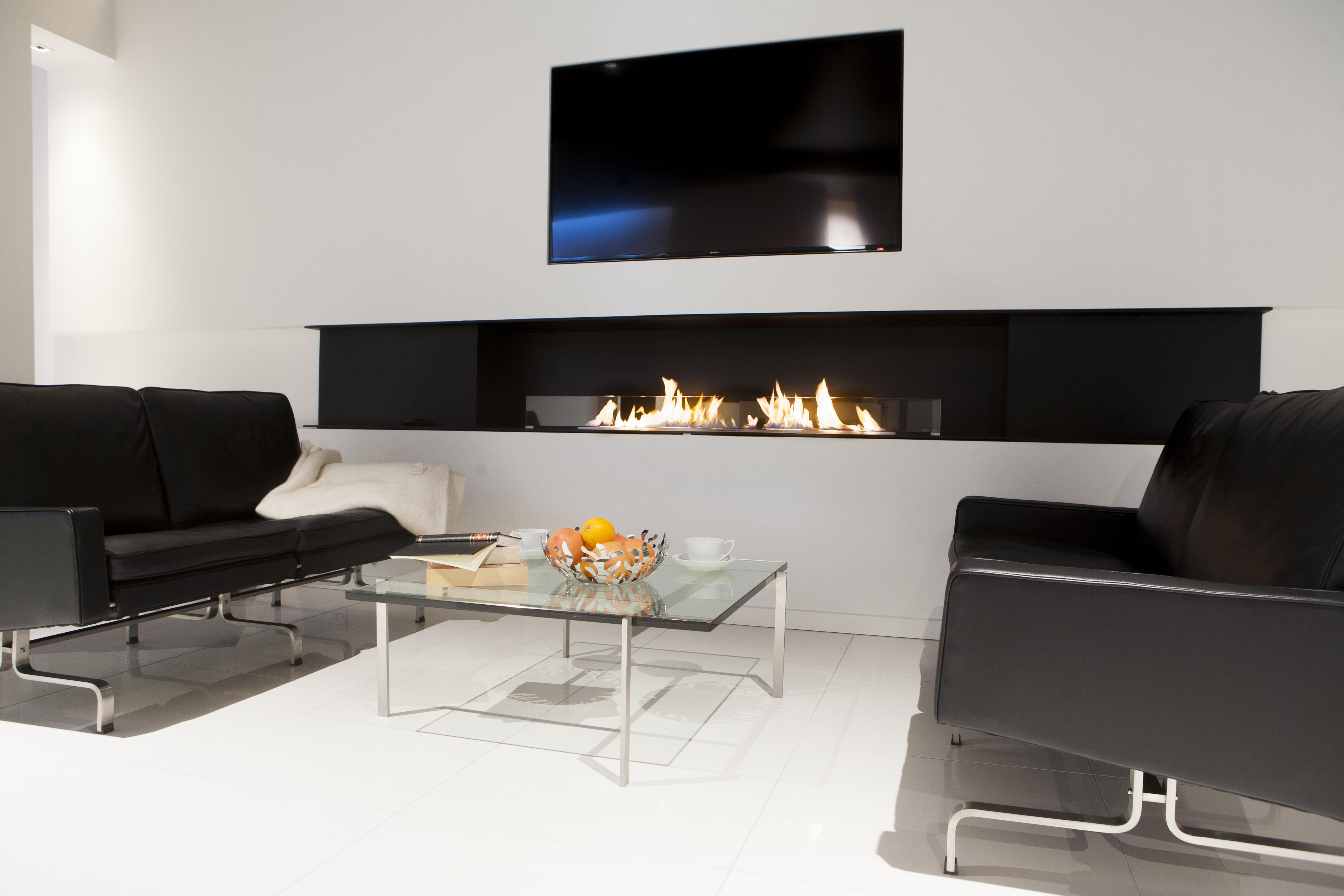 Bioetanol Kamin kamini in kaminske peči varni v toplem domu