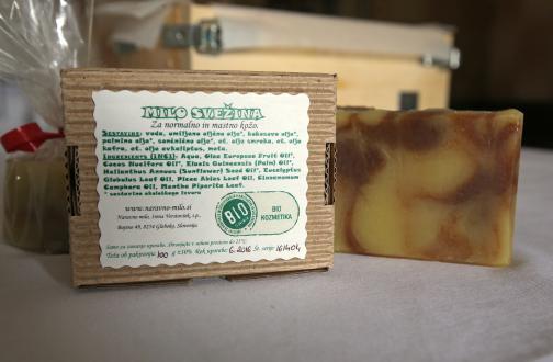 Ekološki certifikat potrjuje, da Irenina mila vsebujejo najmanj 95 odstotkov sestavin ekološkega izvora.
