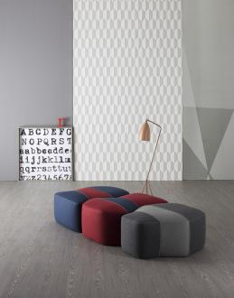 Tabureji Earth, Wind, Fire, oblikovanje Gino Carollo, Bonaldo, salon Elementare, od 675 evrov brez ddv naprej