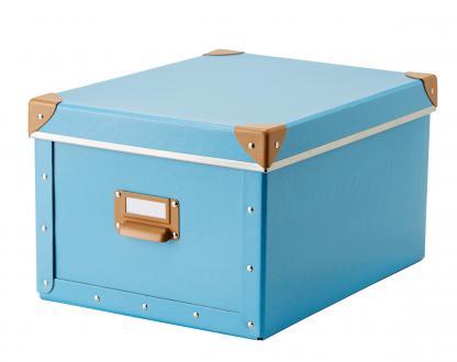 Škatla za shranjevanje Fjälla, Ikea, 22 x 27 x 16 cm, 3,99 evra