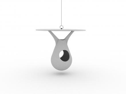 Keramična ptičja hišica hruškaste oblike, jjk-design.si, 45 evrov