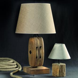 Namizna luč škripec, kolekcija Old oak, prodajni salon Drugačno pohištvo, 243,20 evra