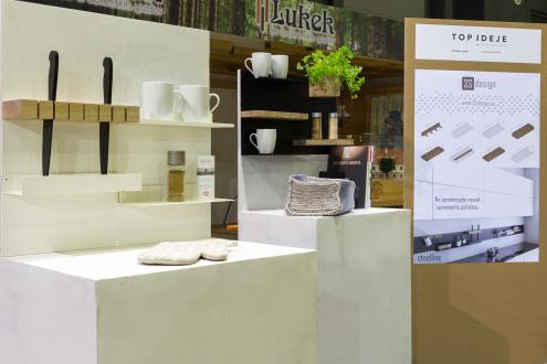 Sistem kuhinje Steelline, studio 3S design - Foto: arhiv sejma
