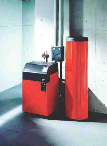 Sodobne nizkotemperaturne in kondenzacijske kotle je smiselno uporabljati tudi za ogrevanje sanitarne vode, zato je treba h kotlu priključiti ustrezno velik zalogovnik toplote.