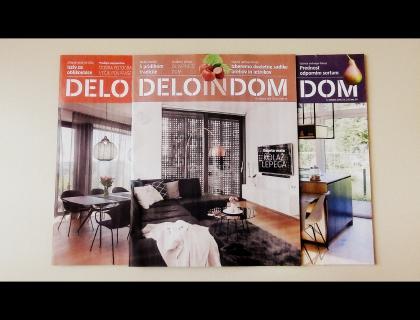 Deloindom izide 9. novembra