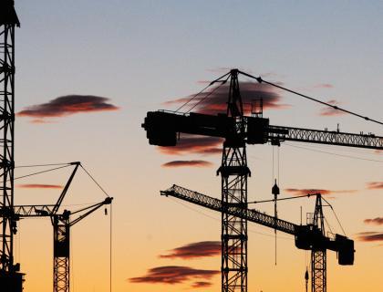 Vrednost gradbenih del v Sloveniji lani navzdol