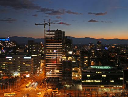 Slovenija januarja z največjim mesečnim padcem gradbeništva v EU