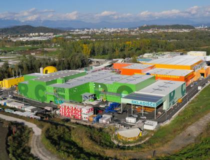 V RCERO Ljubljana lani pripeljanih 111 milijonov ton odpadkov