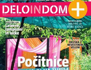 Izšel je novi Deloindom+: Počitnice doma in na tujem