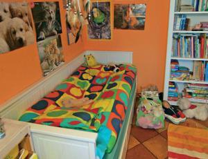 Sobi za dva šolarja: Otroška soba je otrokov svet