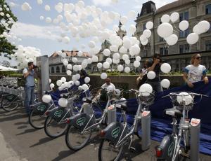 Kolesa za samopostrežno izposojo že na ljubljanskih ulicah