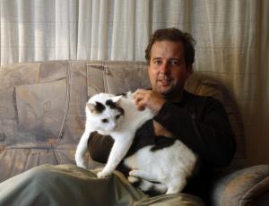 Janez Usenik: mačke imajo služabnike