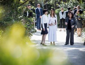 Melania Trump bo ohranila zelenjavni in rožni vrt Michelle Obama