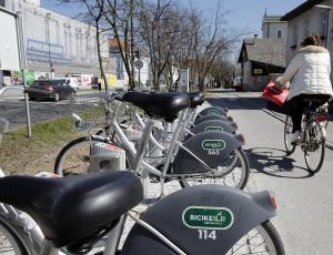 V maju rekordna dnevna izposoja ljubljanskih »bicikljev«