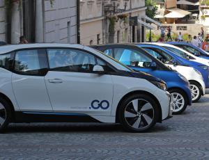 Ljubljana s storitvijo souporabe električnih vozil