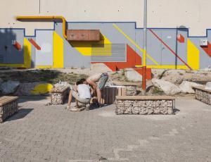 Izdelava urbane opreme iz odpadnih materialov