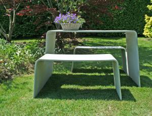 Moj betonski vrt: Gradbeni material z žametno površino