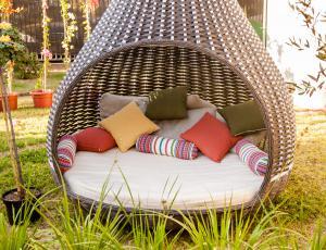 Na vrtu: Kotički za uživanje