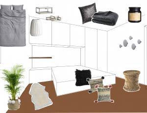 Stilska osvežitev: Most za izkoristek prostora v spalnici