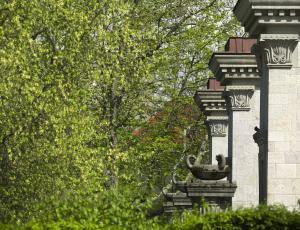 Plečnikova arhitektura na ogled v parku Tivoli