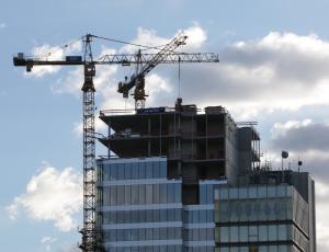 Vrednost gradbenih del aprila nekoliko navzdol
