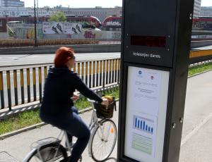 Štetje ljubljanskih kolesarjev