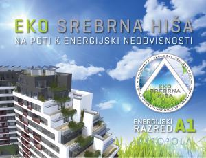 Eko srebrna hiša: Hiša razgledov in udobja