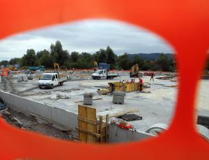 Slovenija novembra z najvišjo rastjo gradbeništva v območju evra