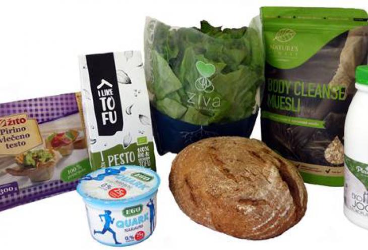 Najbolj inovativna živila leta 2017, izbrana na razpisu Inštituta za nutricionistiko. - Foto: arhiv Inštituta za nutricionistiko