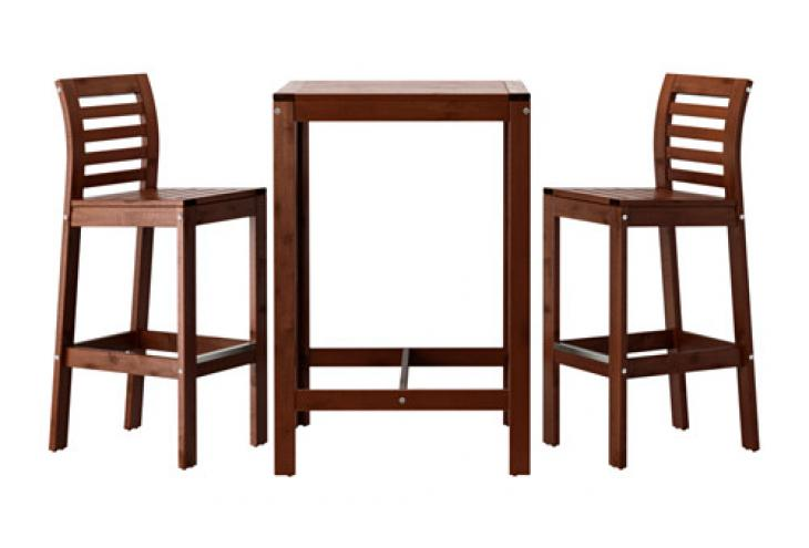 Pohitvo za balkon Mini pohitvo za maksi uitke  : applaro bar table and bar stools brown0311576pe515115s4 from www.deloindom.si size 730 x 495 jpeg 30kB