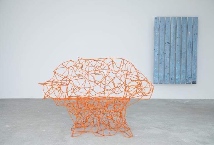 Stol Corallo, oblikovanje brata Campana, 2004 - Foto: Peter Giodani
