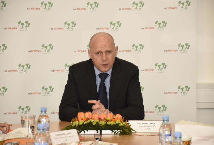 mag. Franc Props, generalni direktor SPL