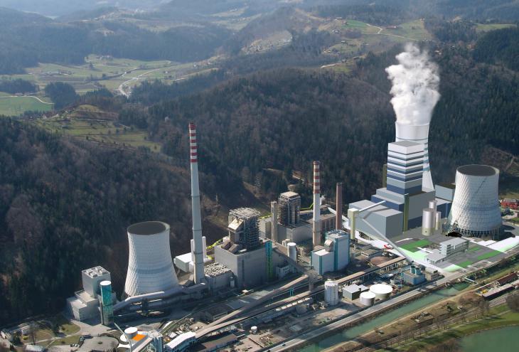 V Evropi je okrog 3500 velikih kurilnih naprav, ki so so odgovorne za približno tretjino vseh onesnaževal, ki jih v zrak spušča industrija.  - Foto: Wikimedia