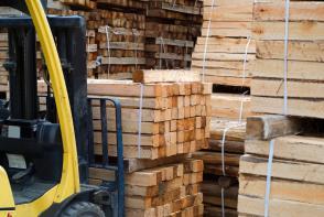 Vrednost odkupljenega lesa decembra na mesečni ravni nižja Slika 1
