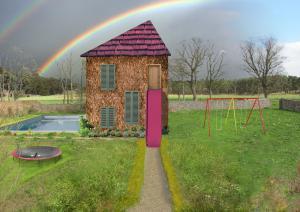 Otroci narisali hiše prihodnosti Slika 1