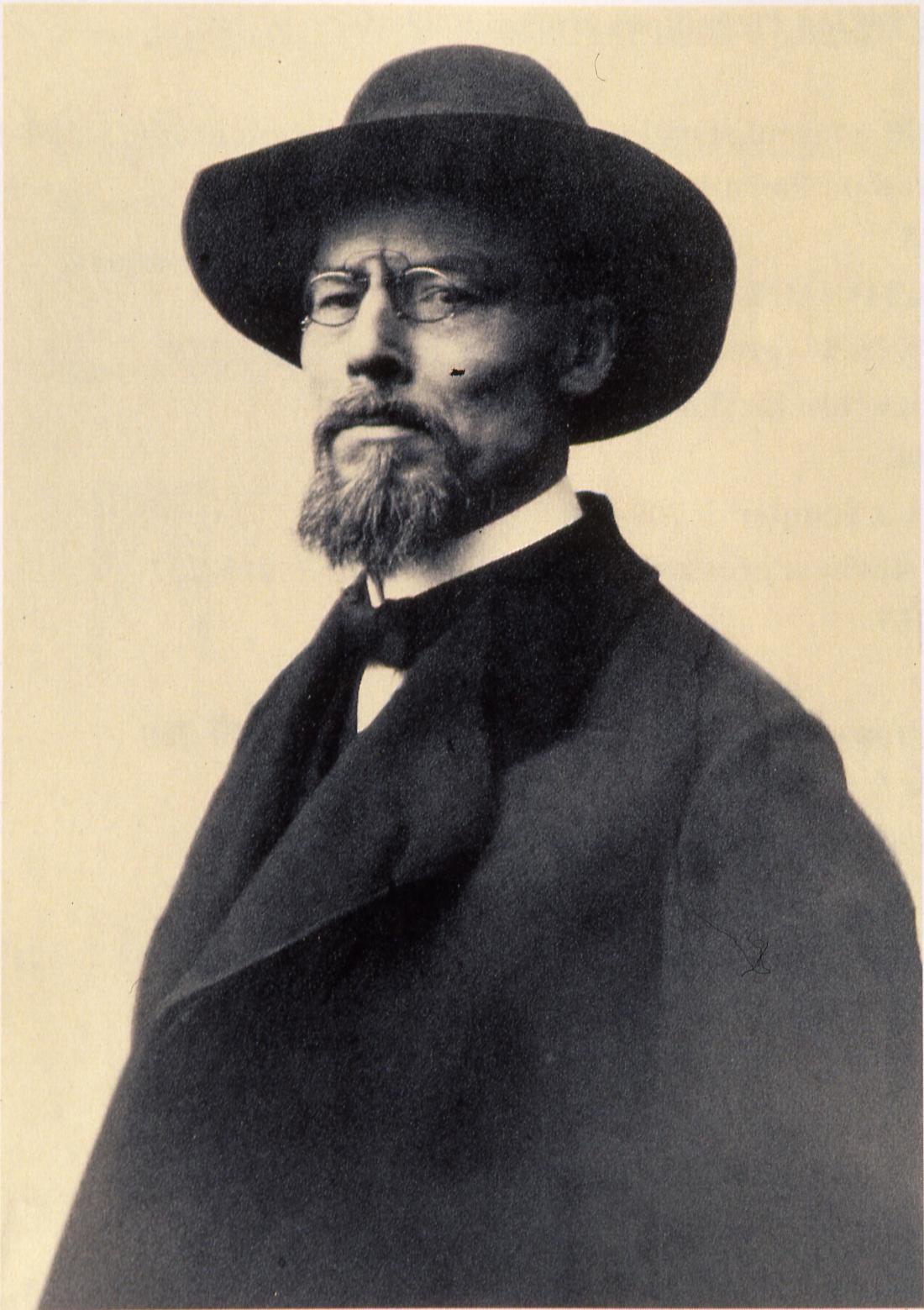Plečnik v Pragi, ok. 1920; Plečnikova zbirka, dokumentacija MGML