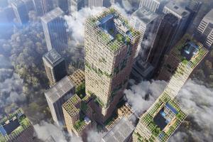 Tokio bo gradil lesen nebotičnik Slika 2