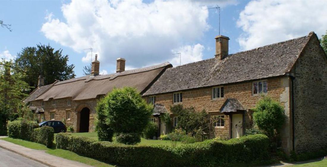 Posestvo Great Tew Estate je kot majhna vasica. Foto: greattewestate