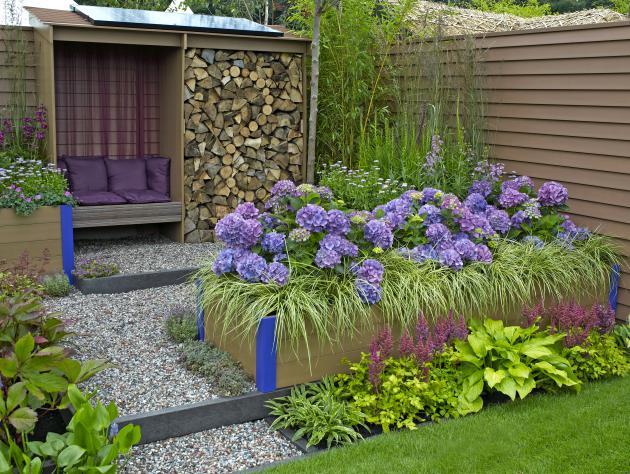Nagradni nate aj glasujte za najlep i okrasni vrt for Gartengestaltung mit buchs und hortensien