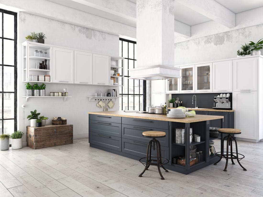 Dobro zasnovana kuhinja ima dovolj delovnih in shranjevalnih površin ter pravilno sosledje elementov, ki bodo olajšali pripravo hrane.