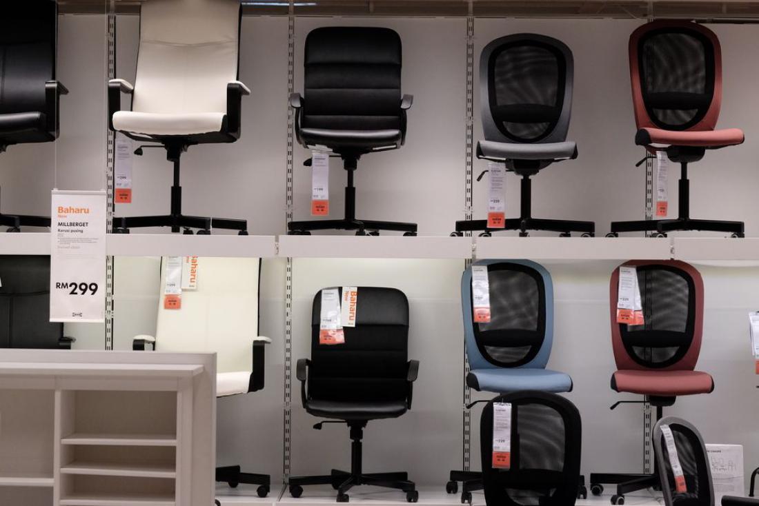 Najprej bo na voljo za najem pisarniško pohištvo. FOTO: Shutterstock