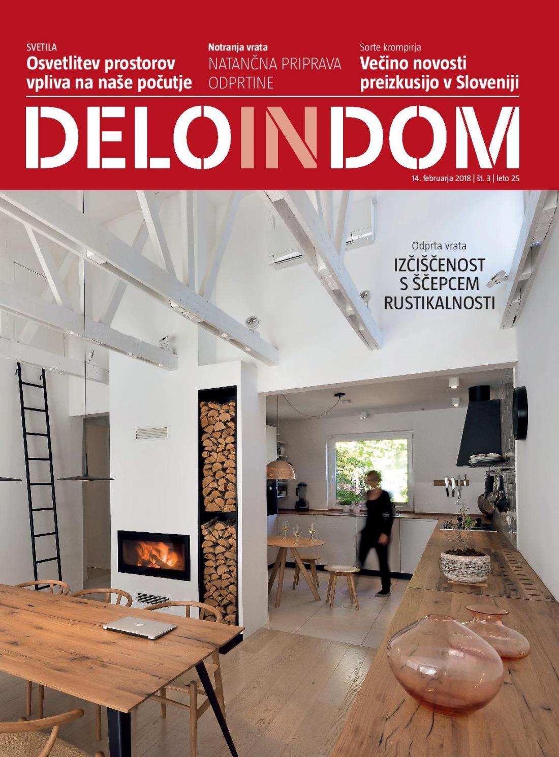Naslednja številka priloge Deloindom bo Delu in Slovenskim novicam priložena 28. februarja 2018.