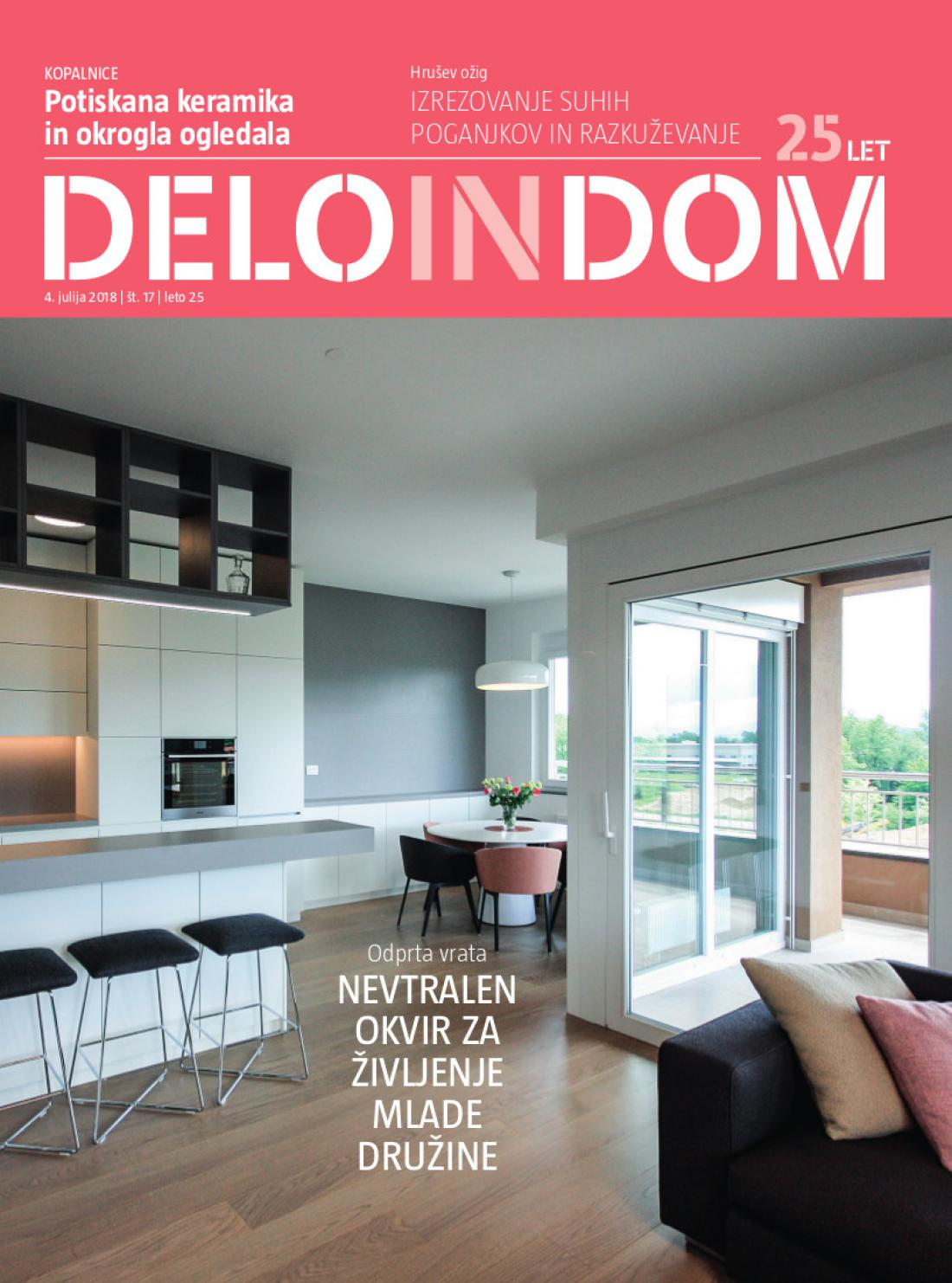 Naslednja številka priloge Deloindom bo Delu in Slovenskim novicam priložena 18. julija 2018.