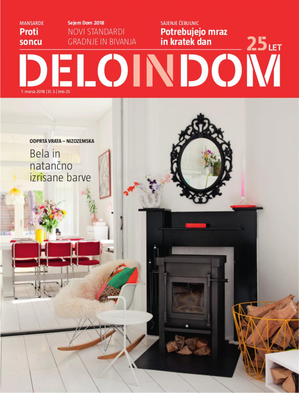 Naslednja številka priloge Deloindom bo Delu in Slovenskim novicam priložena 14. marca 2018.