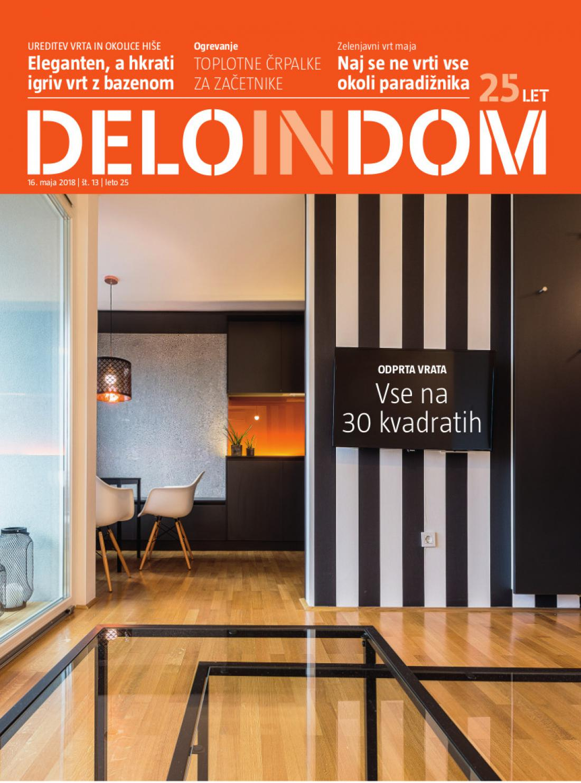 Naslednja številka priloge Deloindom bo Delu in Slovenskim novicam priložena 23. maja 2018.