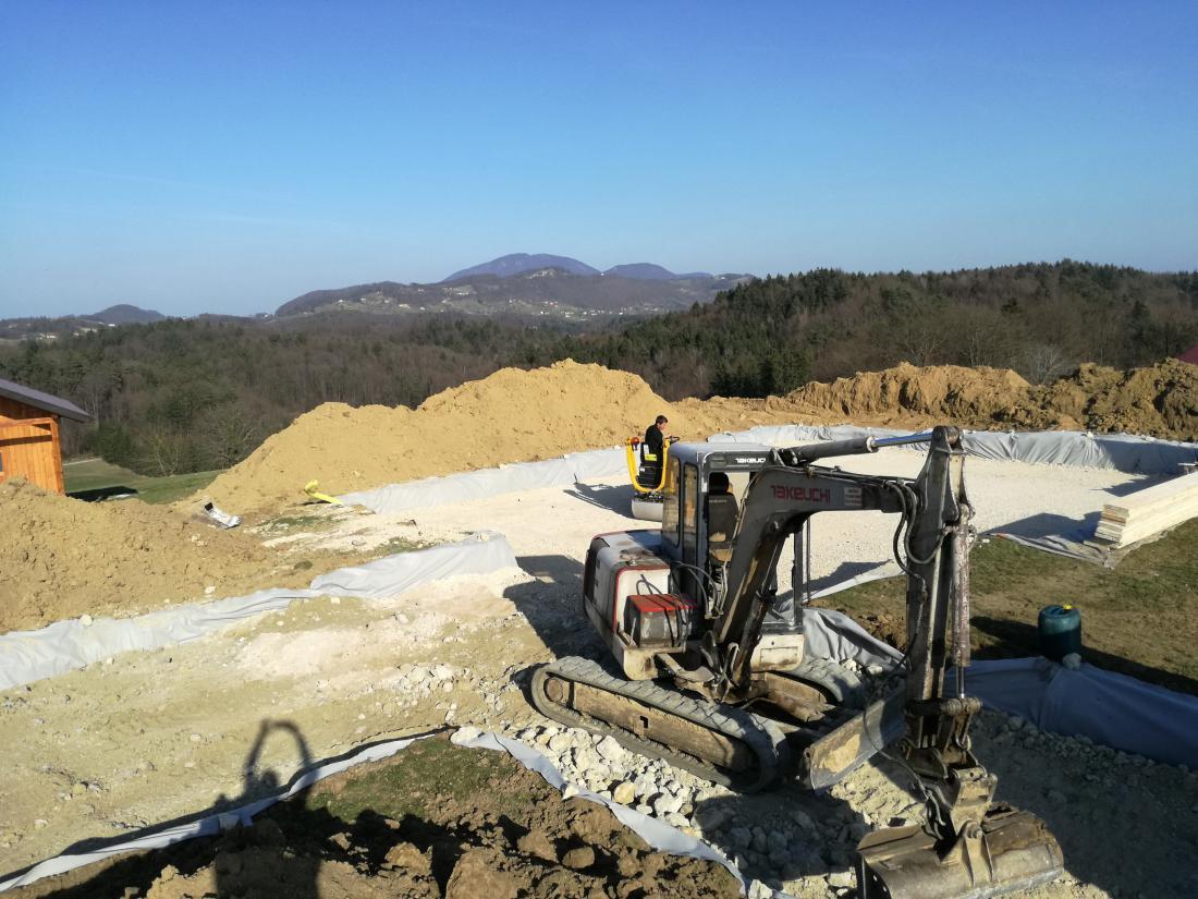 Izkop smo opravili marca 2017.