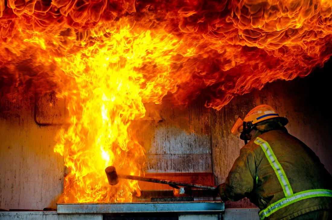 Največ požarov nastane v zimskem času.