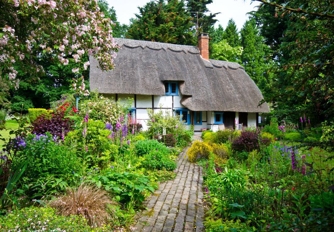 Čarobni angleški podeželski vrt. Foto: Konmac/Shutterstock