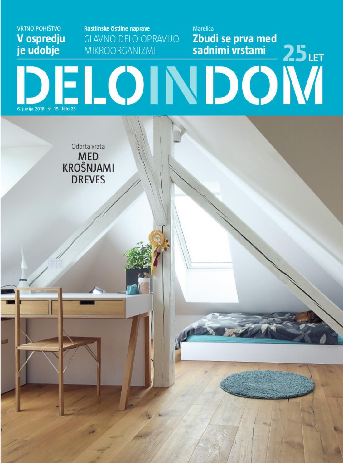 Naslednja številka priloge Deloindom bo Delu in Slovenskim novicam priložena 20. junija 2018.