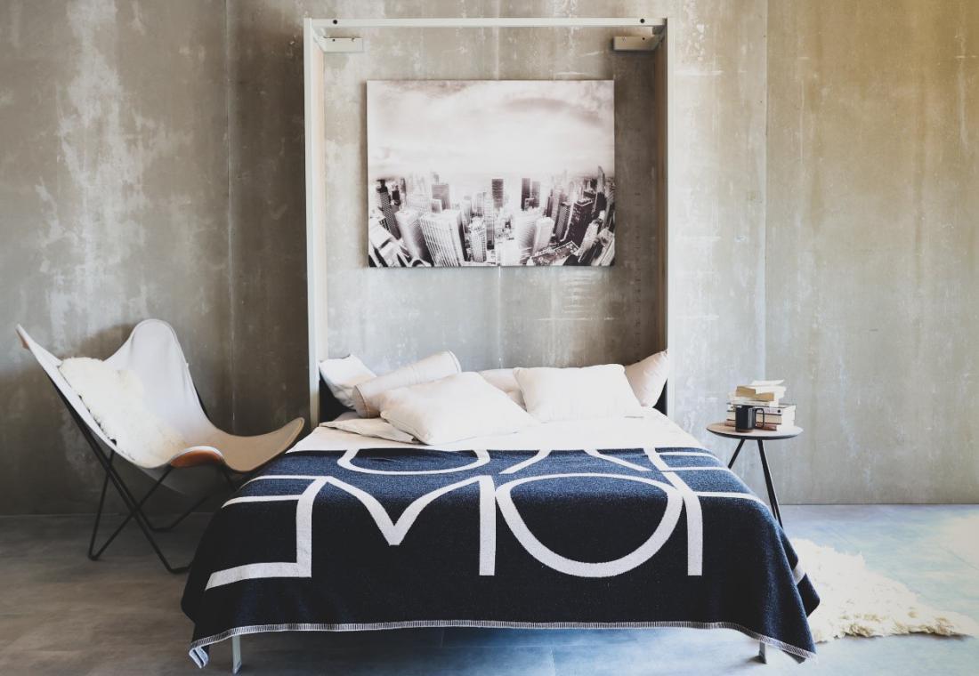 Odprta omarna postelja model IZI-2020